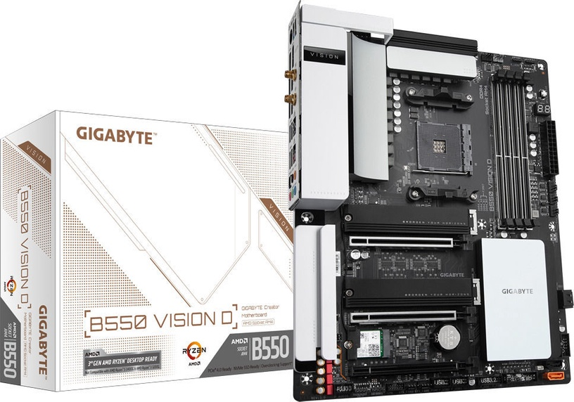 Mātesplate B550 VISION D