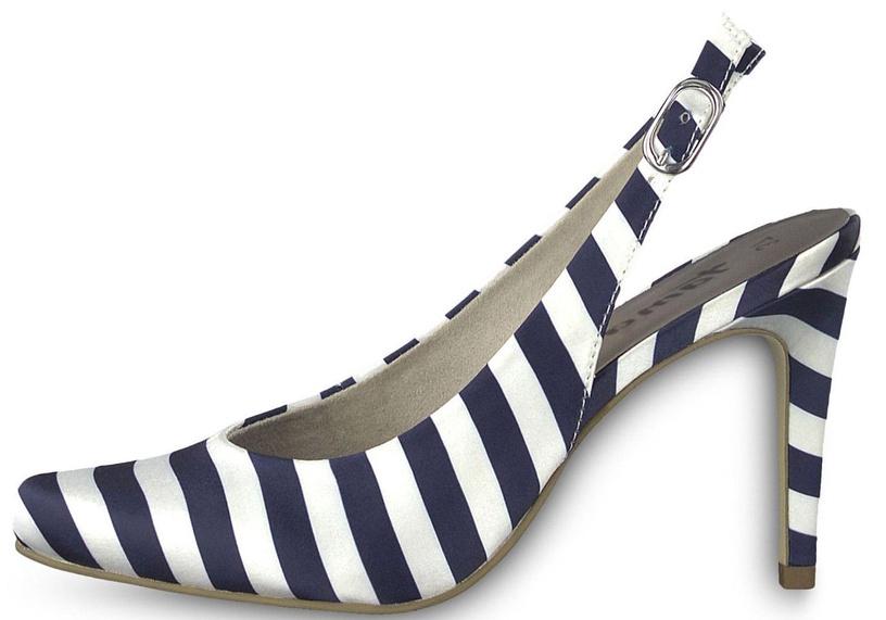 Tamaris Joie Pumps 1-1-29614-30 Navy Stripes 38
