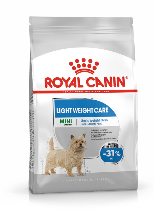 Royal Canin Light Weight Care Vegetable Mini Adult 3kg