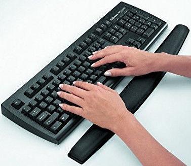 Fellowes Memory Foam Keyboard Wrist Support Sapphire