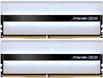 Team Group T-Force Xtreem ARGB White 16GB 3200MHz CL16 DDR4 KIT OF 2