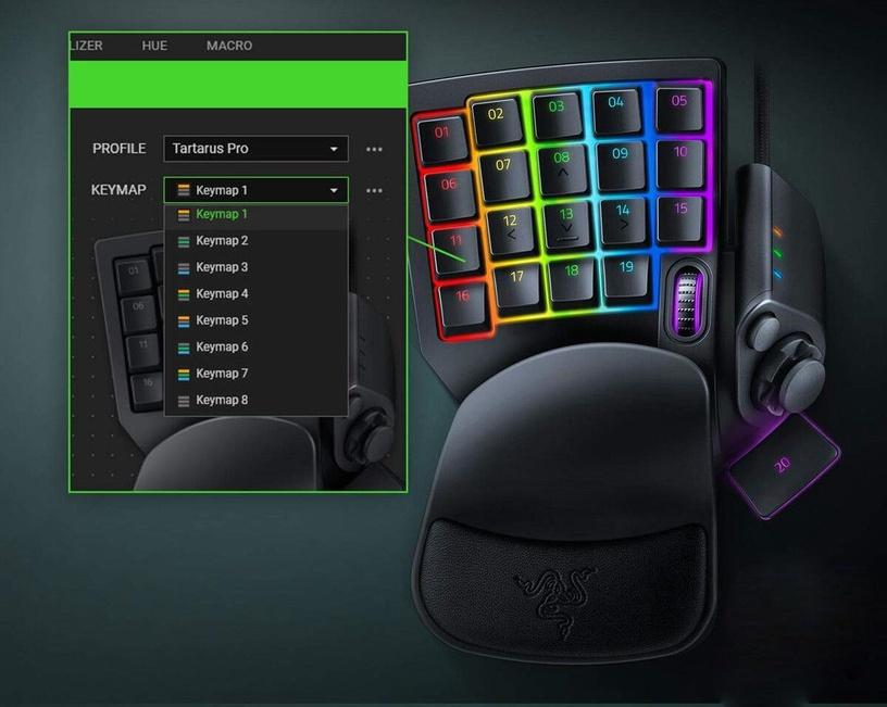 Razer Tartarus Pro Gaming Black
