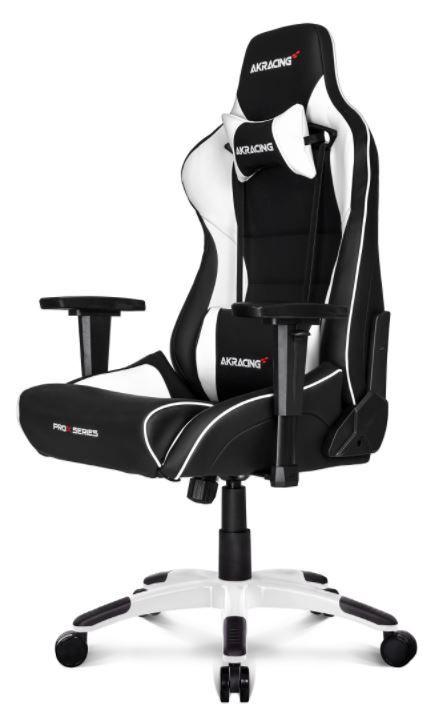 Žaidimų kėdė AKRacing Prox Gaming Chair Black/White