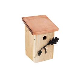 Linnumaja vaskkatusega Nest To Nest, 20.5 x 22 x 31 cm
