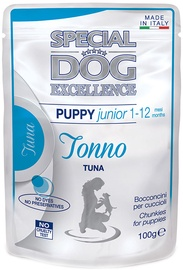 Monge Special Dog Chunkies Puppy Tuna 100g