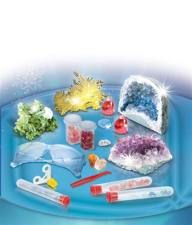 Rotaļu komplekts Clementoni Crystal Laboratory  61822