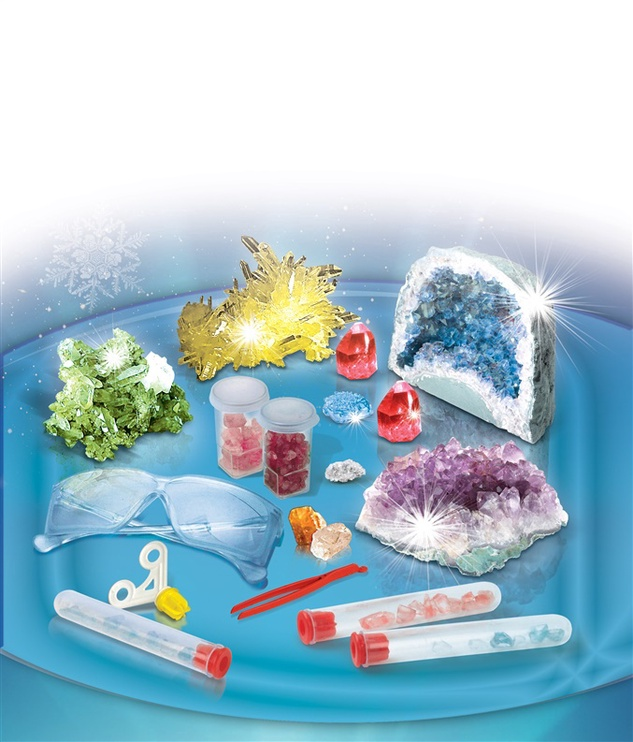 Rinkinys Clementoni Crystal Laboratory 61822