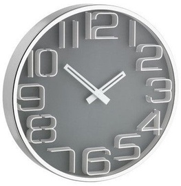TFA Wall Clock 30cm Grey