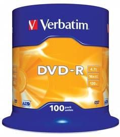 Andmekandja Verbatim 100x 4.7GB DVD+R 16x 43549