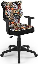Детский стул Entelo Duo Size 5 ST28, черный/многоцветный, 375 мм x 1000 мм