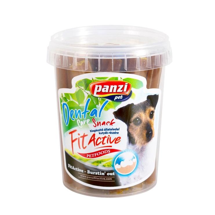 Skanėstas šunims Fit Active Dental Care, su rūkytu sūriu ir morkomis, 350 gr