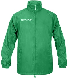 Givova Basico Rain Jacket Green M