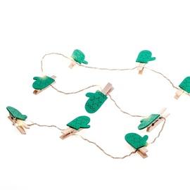 Электрическая гирлянда DecoKing Kaleo Glove LED w/ Clips, 10 шт.
