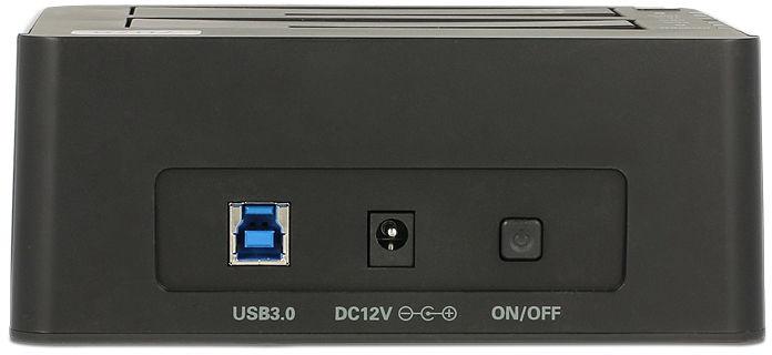 "Delock Dual Docking Station USB 3.0 to SATA 2.5""/3.5"""