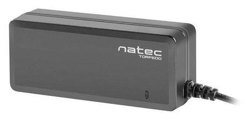 Адаптер Natec Universal AC Laptop Power Adapter Black, 65 Вт
