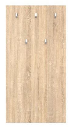 Black Red White Nepo Coat Rack 70x135cm Sonoma Oak