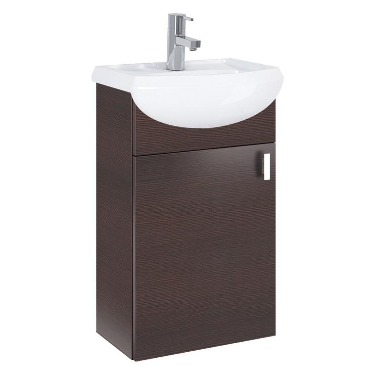 Elita Bathroom Cabinet Eve 167049 Oak