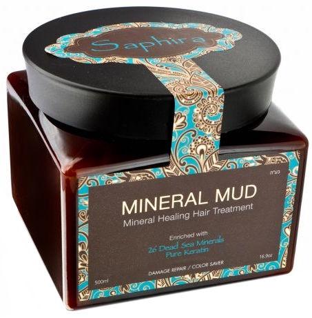 Kaukė plaukams Saphira 26 Mineral Mud, 500 ml