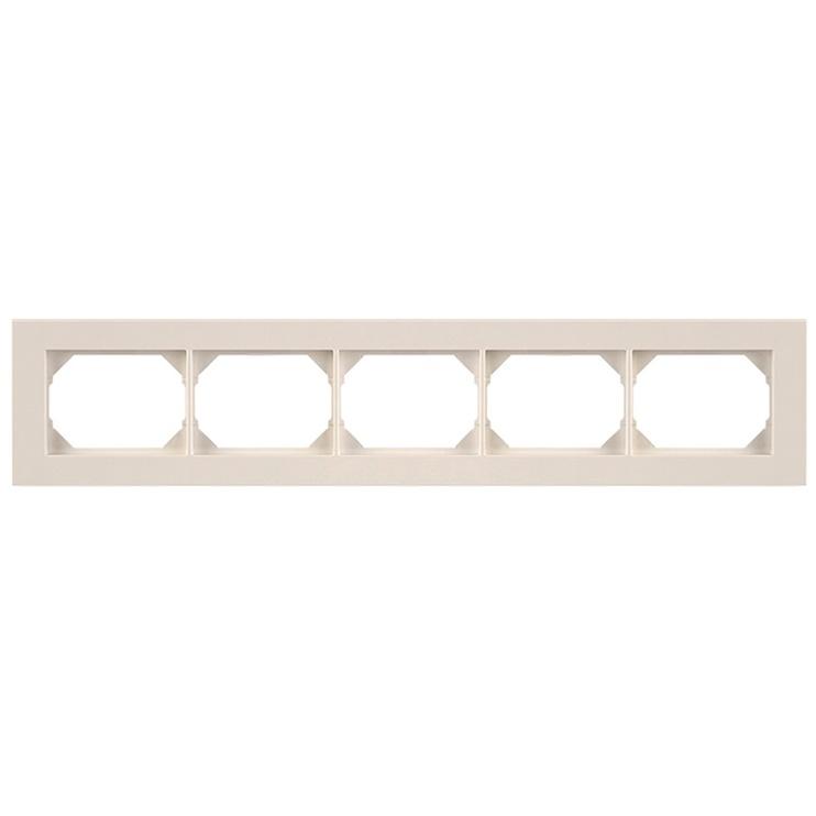 Penkiavietis rėmelis Vilma XP500, baltos spalvos