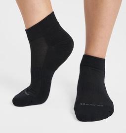 Kojinės Audimas Short Cotton Fiber Black, 38-40, 2 vnt.