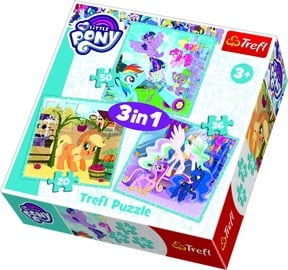Пазл Trefl My Little Pony 3-In-1 34843, 20/36/50 шт.