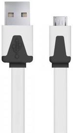Esperanza Cable USB / USB-micro White 1m