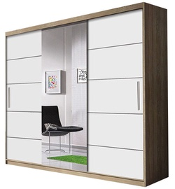 Idzczak Meble Wardrobe Alba Sonoma Oak/White