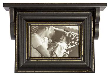 Home4you Family Photo Frame 15x10cm Black