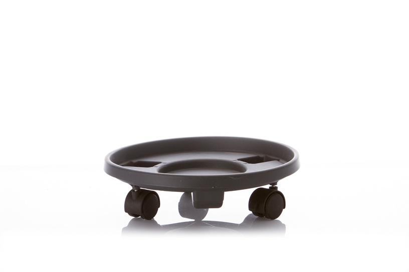 Поддон для вазона Garden Center Pot Plate With Wheels Grey