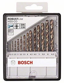 Bosch 2607019926 Robust Line HHS-CO Metal Drill Bit Set 13pcs