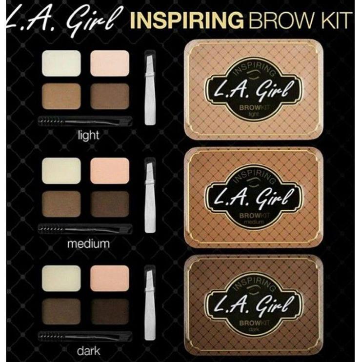 L.A. Girl Inspiring Brow Kit Palette 2.4g 434