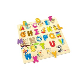 Classic World Wooden Puzzle Alphabet 3581