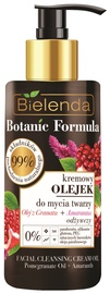 Makiažo valiklis Bielenda Botanic Formula Pomegranate Oil + Amaranth Face Cleansing Cream Oil, 140 ml