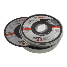 Bosch Inox Cutting Discs 125mm 10pcs