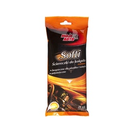 Moje Auto Softi Cockpit Cleaning Wipes Matte 24pcs