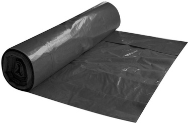 Spino Garbage Bags 45my 250l 5Pcs Black