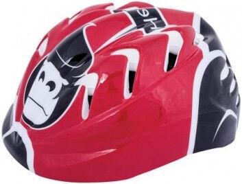 Spokey Ape Helmet For Children Red/Black 48-52cm