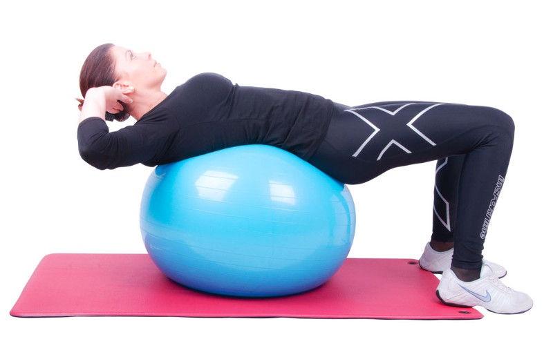 inSPORTline Gymnastics Ball 55cm Purple