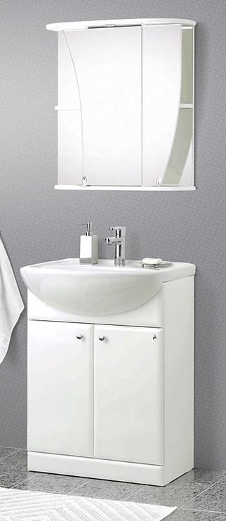 Vonios spintelė su veidrodžiu Riva SV66