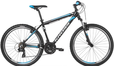 "Kross Hexagon 1.0 L 26"" Black/Blue 2019"