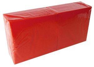 Lenek Napkins 24cm 1 Ply Red 400pcs