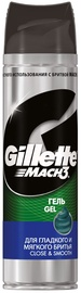 Gillette Mach3 Close & Smooth Shaving Gel 200ml