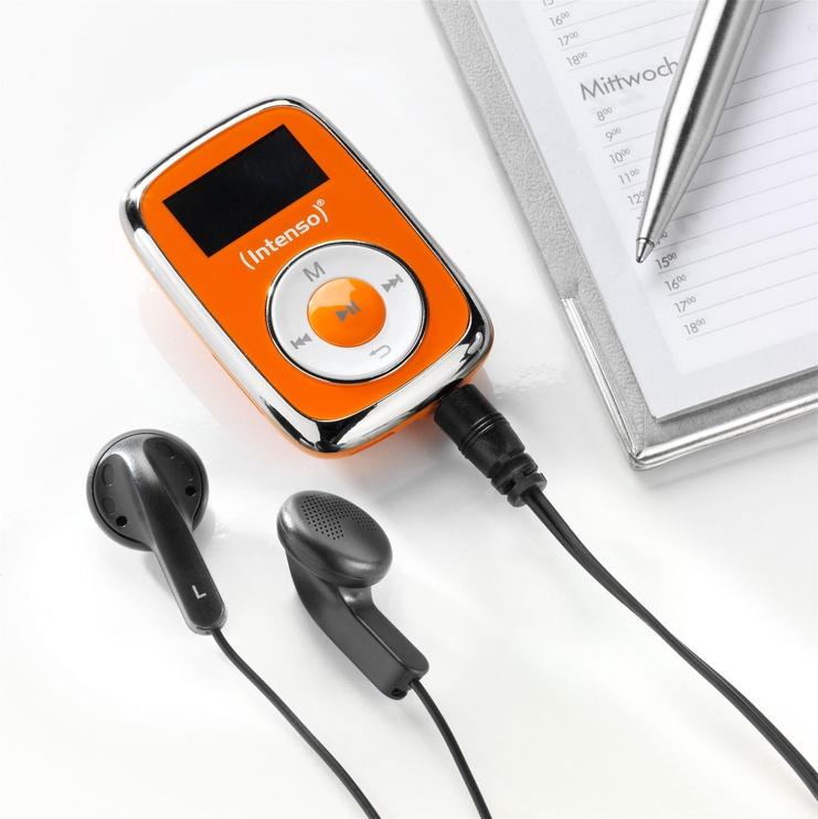 Музыкальный проигрыватель Intenso 3614565, oранжевый, 8 ГБ