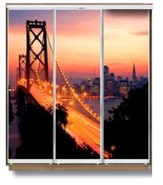 MN 2919005 Wardrobe w/ Sliding Doors Sonoma Oak