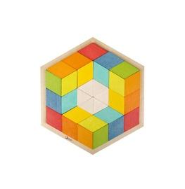 Koka 3D puzzle sešstūris 3728