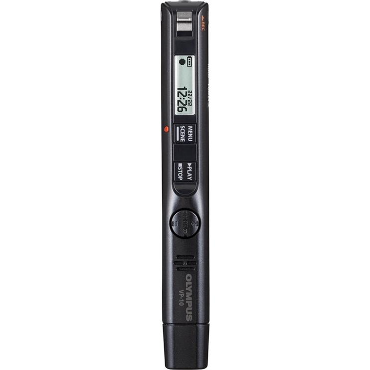 Diktofon Olympus VP-10, must, 4 GB