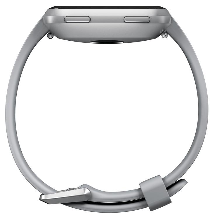 Išmanus laikrodis Fitbit Versa Grey/Silver Aluminum