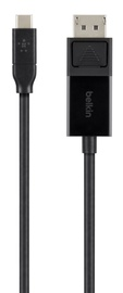 Belkin USB-C to DisplayPort Cable Black 1.8m