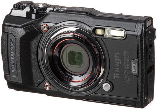 Olympus Tough TG-6 Digital Camera Black
