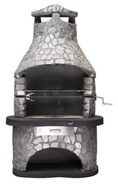 Mustang Pihagrilli Tampere Slate Coated Stone Barbecue